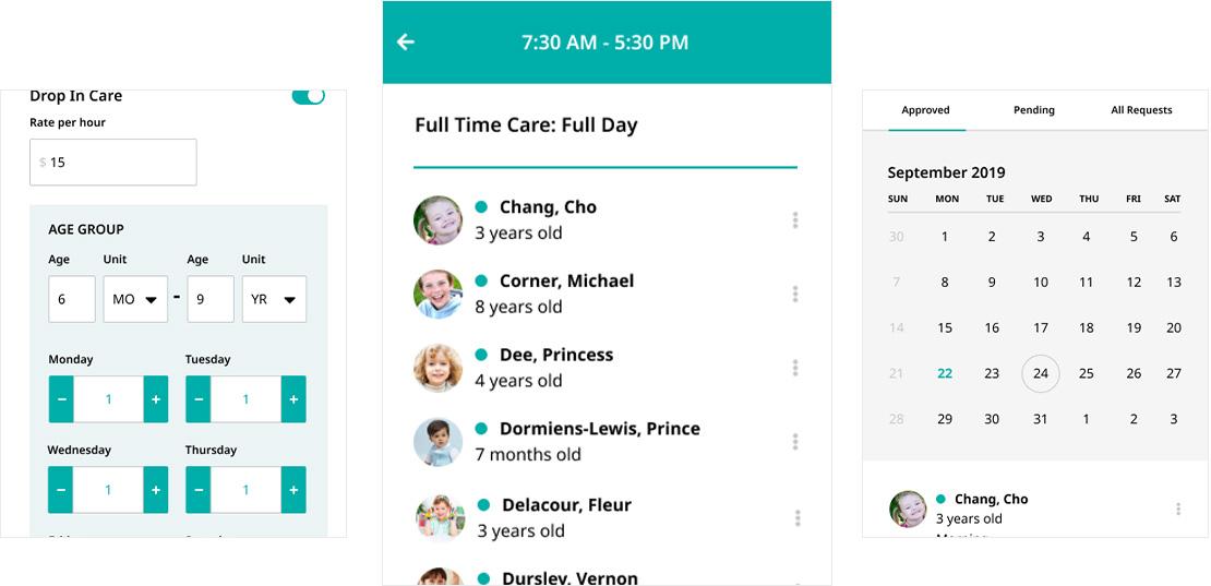 Mobile Version for the Center Web App